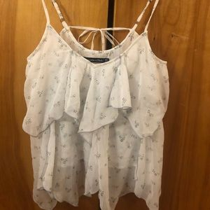 Abercrombie and Fitch tiered tank